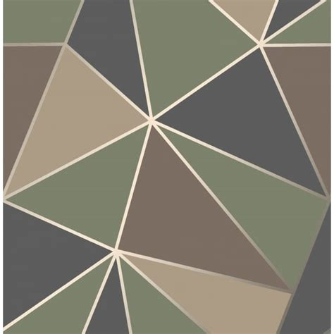 fine decor apex blue green  brown apex wallpaper