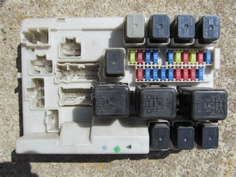 2010 Nissan Maxima Fuse Box Location by 2004 05 Nissan Maxima Module Fuse Box Ebay