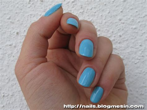 Maybelline Color Show Cool Blue Nail Polish