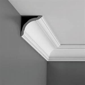 Corniche Plafond Platre : corniche plafond d corative moulure effet stuc murale ~ Edinachiropracticcenter.com Idées de Décoration