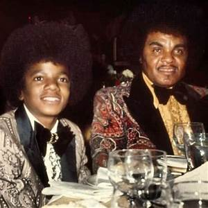 Michael And His Father, Joseph At The 1973 Golden Globe ...