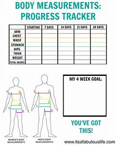 How To Take Body Measurements   Free Printable