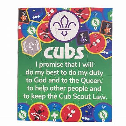 Promise Cub Jigsaw Scout Piece Gifts Guide