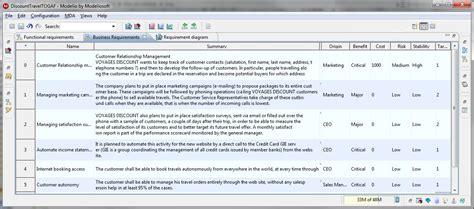 uml tool examples  requirement diagrams  modelio