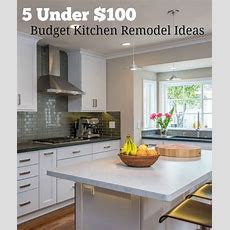 Best 25+ Budget Kitchen Remodel Ideas On Pinterest  Cheap
