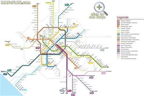 rome metro map travelquazcom