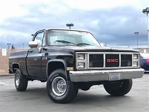 1987 Gmc Sierra 1500 4x4 Regular Cab Short Bed 350 V8 Fuel Injected Engine  U0026 A  C For Sale