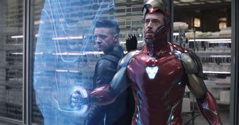 Robert Downey Jeremy Renner Reflect Their