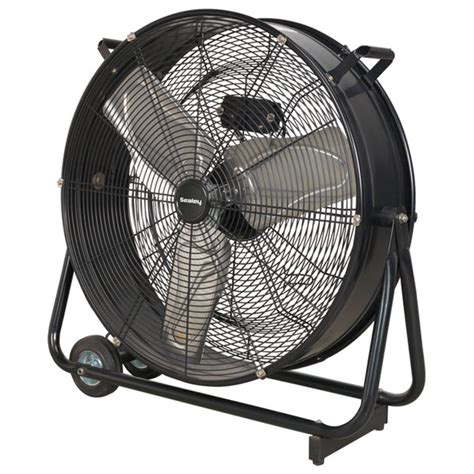 high velocity industrial fan sealey hvd24 industrial high velocity drum fan 24 quot 230v