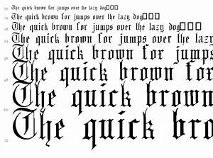 8 English Gothic Font Images - Old English Font Free ...