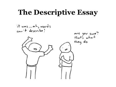 essay about describing a person
