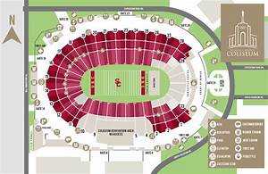 Lane Stadium Seating Chart With Rows And Seat Numbers