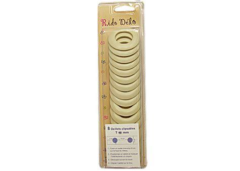 oeillets clipsables pour rideaux oeillets 224 clipser 40mm oeillet clipsable pour rideau pas cher