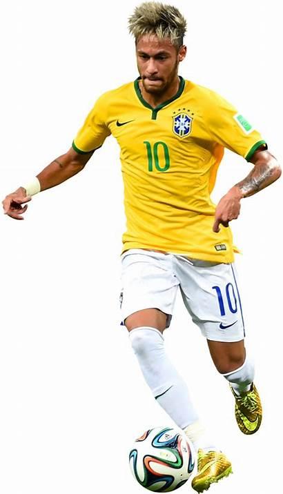 Neymar Brasil Football Junior Seleccion Player Render