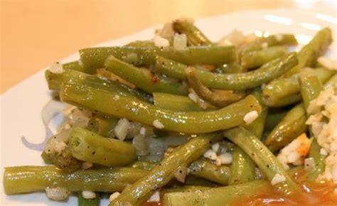 cuisiner haricot vert haricots verts à l 39 ail et à l 39 oignon pour le bbq de