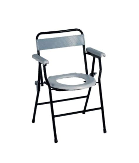 sunway folding commode chair with backrest handle buy