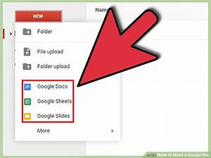 How To Make A Google Doc  With Pictures
