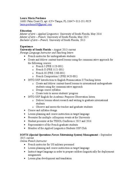 laura-perdomo resume | Graduate School | Cognition
