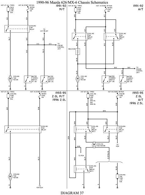 88 Mazda 323 Wiring Diagram by Repair Guides