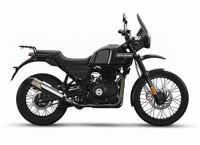 Colours Himalayan Enfield Royal Granite Motorcycles Side