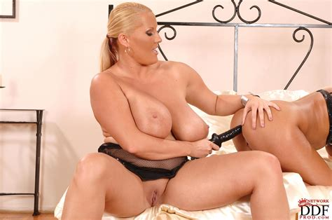 Busty Blonde Milf Lucy Love Is Drilling Her Cuties Cunt