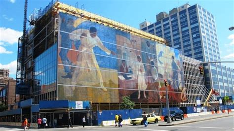 Harlem Hospital Glass Mural by The World Beautiful One Glass Pane At A Time The