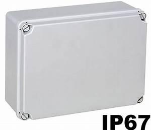 Boite De Derivation Electrique : boite de d rivation tanche ext rieur ip65 6 tailles ~ Dailycaller-alerts.com Idées de Décoration