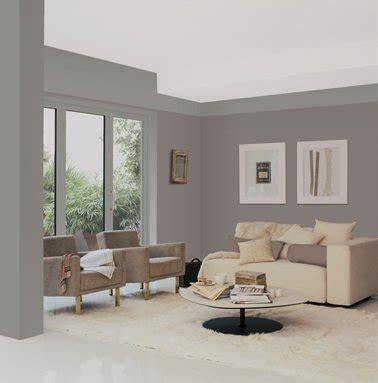 idee peinture salon gris peinture salon gris taupe feutr 233 pour une ambiance elegante et zen