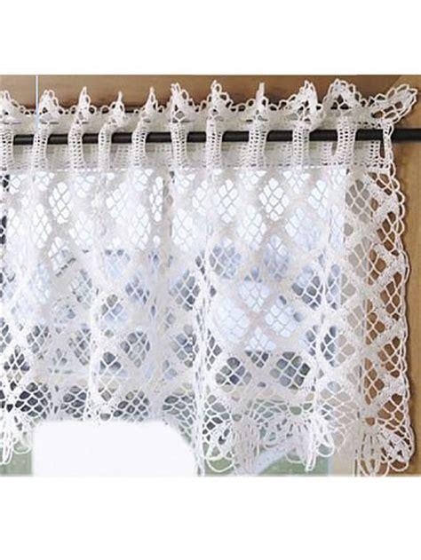 d馮lacer en cuisine les 80 meilleures images du tableau crochet rideaux sur rideaux en crochet crochet et crochet filet