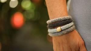 how to make felted knit wool bracelets kin diy