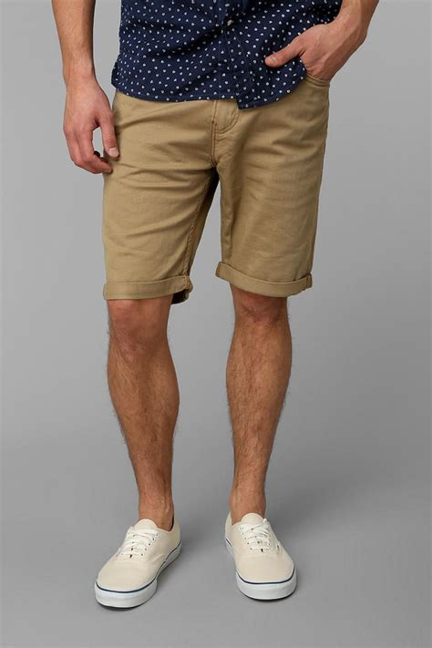 Khaki Shorts Men Outfit - Hardon Clothes