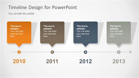 timeline template  powerpoint slidemodel