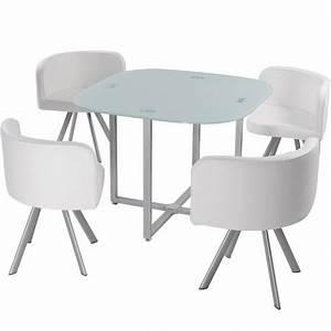 Table Et Chaise Scandinave : table scandinave et chaises vintage 90 blanc pas cher ~ Melissatoandfro.com Idées de Décoration