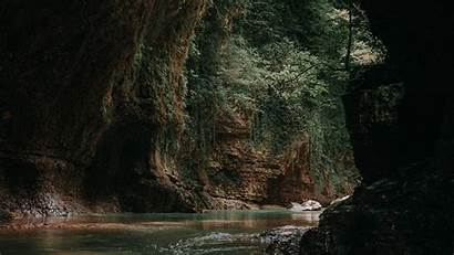 Cave Water Dark Wallpapers Widescreen Background Sea