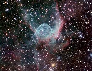 Thor's Helmet, an emission nebula in Canis Major | Anne's ...