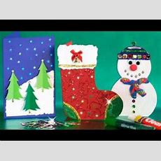 Christmas Arts And Crafts Ideas Youtube