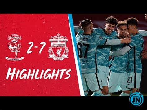 [Highlights] Carabao Cup - Lincoln 2-7 Liverpool Mp4 ...