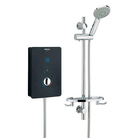 bristan bliss electric shower black  victorian plumbing uk