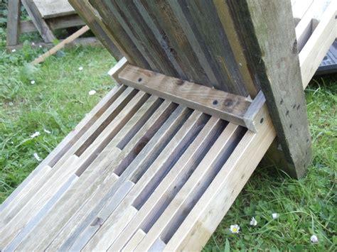 fabriquer chaise fabriquer chaise en bois cuisine fabriquer un banc avec