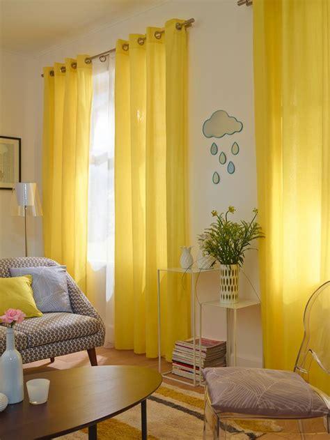 les 25 meilleures id 233 es de la cat 233 gorie rideaux jaunes sur