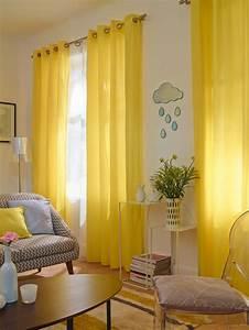 Rideaux Salon Decoration : les 25 meilleures id es de la cat gorie rideaux jaunes sur pinterest rideaux de maison jaunes ~ Preciouscoupons.com Idées de Décoration