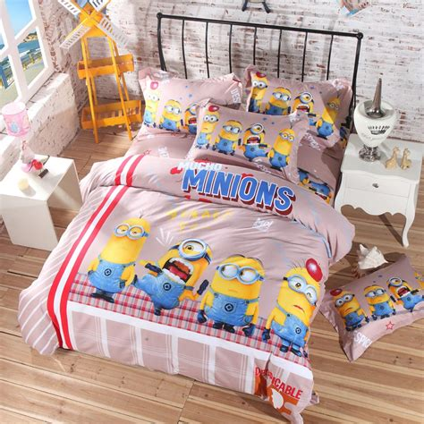 minion toddler bedding minion bed sheets set ebeddingsets