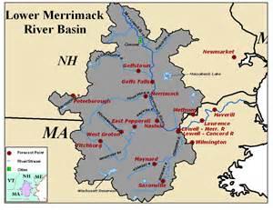 Merrimack River Map