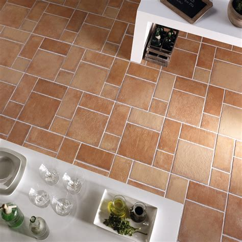 porcelain tiles in earth tones
