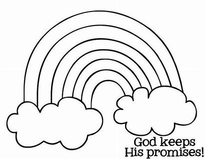 Rainbow Coloring Pages Printable Many Colors