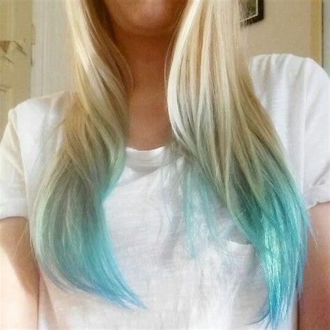25 Best Ideas About Blonde Dip Dye On Pinterest Dip