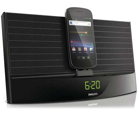 fidelio black philips as140 fidelio android dock alarm clock fm radio