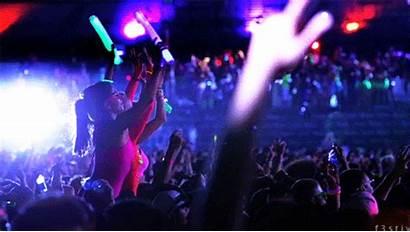 Party Rave Crowd Concert Edm Neon Gifs