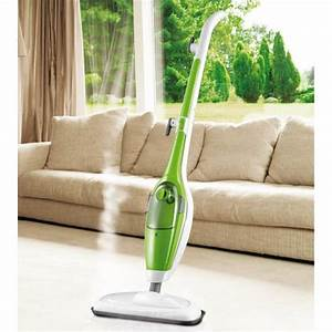 Balai Vapeur Clean Up : balai vapeur 5 en 1 1600 w 2 lingettes patin ~ Premium-room.com Idées de Décoration