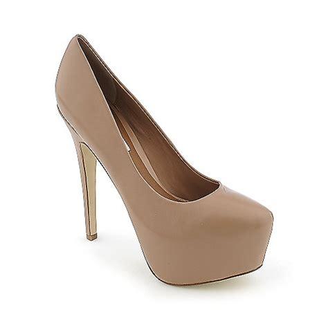 steve madden dejavu womens platform high heel dress shoe